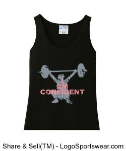 I AM CONFIDENT Women's Tank Design Zoom